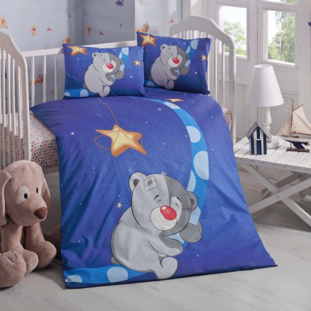 «1133-16» дет. кроватка постельное белье, Ранфорс, TANGO