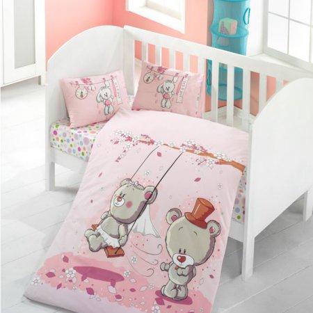«1133-07» дет. кроватка постельное белье, Ранфорс, TANGO