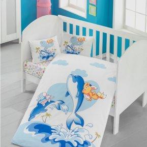 «1133-06» дет. кроватка постельное белье, САТИН, TANGO