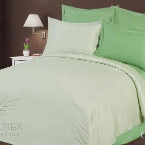 «Green» двуспальное + евро постельное белье, Бамбук, Goldtex
