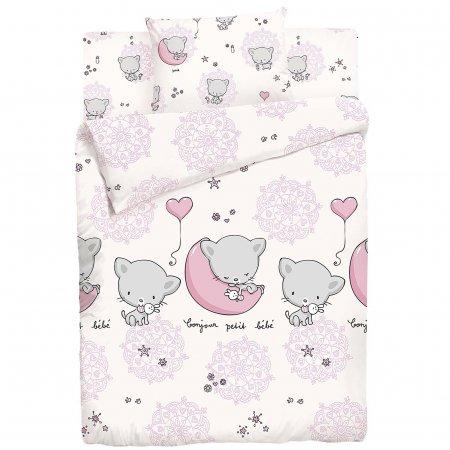 «Милые котята» дет. кроватка постельное белье, ФЛАНЕЛЬ, НордТекс