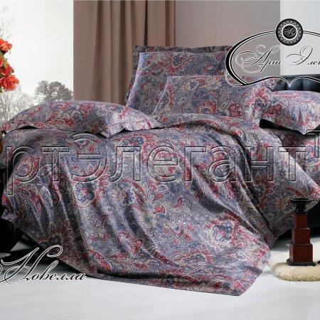 Постельное белье «Новелла» двуспальное с европростыней, Макосатин, Арт Дизайн