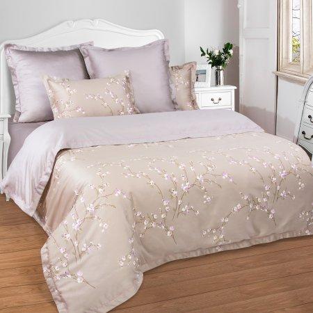 Постельное белье «Пралине» двуспальное с европростыней, Макосатин, Арт Дизайн