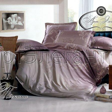 Постельное белье «Тоскана» двуспальное с европростыней, Макосатин, Арт Дизайн