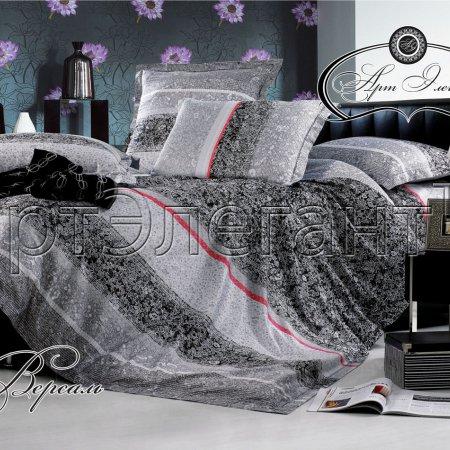 Постельное белье «Версаль №2» двуспальное с европростыней, Макосатин, Арт Дизайн