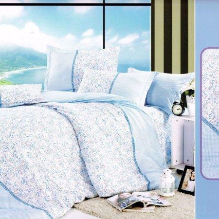 Постельное белье «DF01-20-1110» 1,5 - спальное, Микросатин, TANGO
