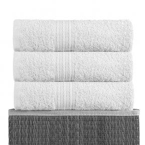 Банное полотенце «Белое 70х140», АльВиТек
