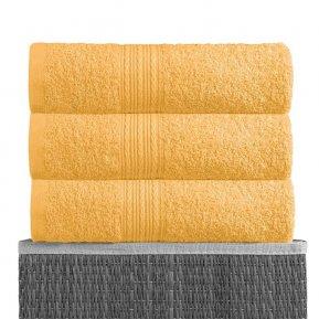 Банное полотенце «Желтый 70х140», АльВиТек