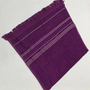 Банное полотенце «Фиолетовый Econik 70х130», АльВиТек