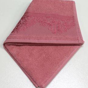 Банное полотенце «Черника YASEMIN 70х130», АльВиТек