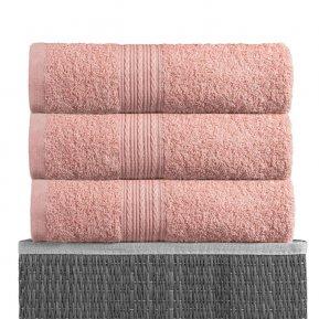 Банное полотенце «Персиковый 70х140», АльВиТек
