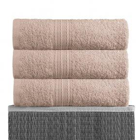 Банное полотенце «Светло-серый 70х140», АльВиТек