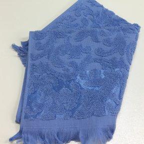 Банное полотенце «Синий ORIENT 70х130», АльВиТек