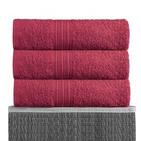 Полотенце для лица «Бордовый 40х70», АльВиТек