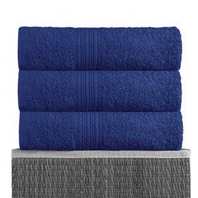 Полотенце для лица «Темно-синий 40х70», АльВиТек