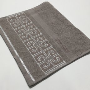 Полотенце для лица «Бежевый Prime 50х90», АльВиТек