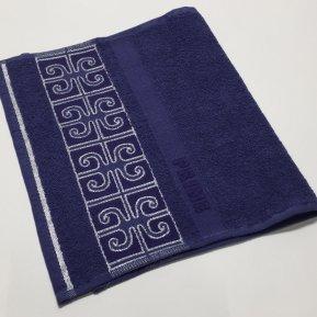 Полотенце для лица «Синий Prime 50х90», АльВиТек