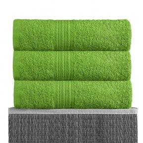 Пляжное полотенце «Зеленый 100х180», АльВиТек
