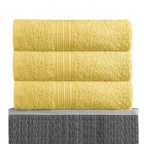 Пляжное полотенце «Лимонный 100х180», АльВиТек