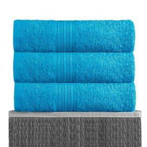 Пляжное полотенце «Бирюзовое 100х180», АльВиТек