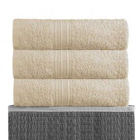 Пляжное полотенце «Светло-кремовый 100х180», АльВиТек