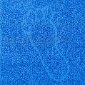"""Полотенце Ножки """"Синее"""" 50*70"""