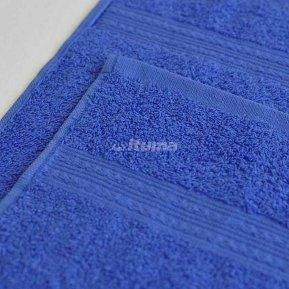 Полотенце синее 70х140 махровое