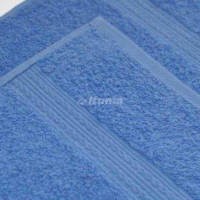 Полотенце голубое 70х140 махровое