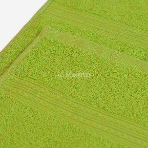 Полотенце зеленое 100х180 махровое