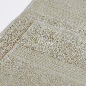 Полотенце светло-серое 100х180 махровое
