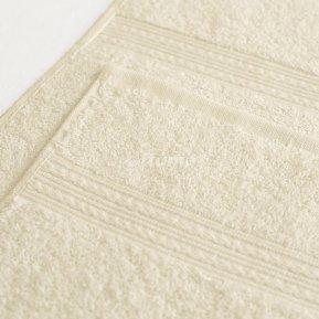 Полотенце светло-кремовое 50х90 махровое
