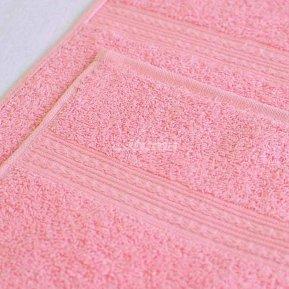 Полотенце светло-розовое 100х180 махровое