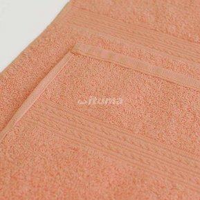 Полотенце персиковое 100х180 махровое