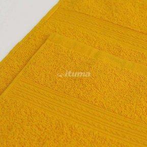 Полотенце желтое 100х180 махровое