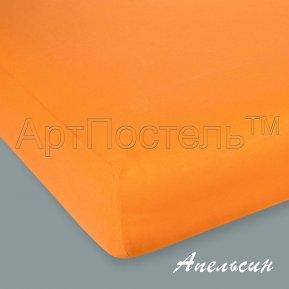 """Простыня на резинке трикотаж """"Апельсин"""" 90*200, Арт Дизайн"""