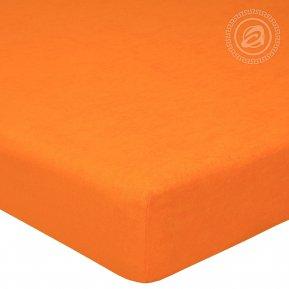 """Простыня на резинке махра """"Апельсин"""" 120*200, Арт Дизайн"""
