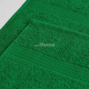 Простыня ярко-зеленая 150х210 махровая