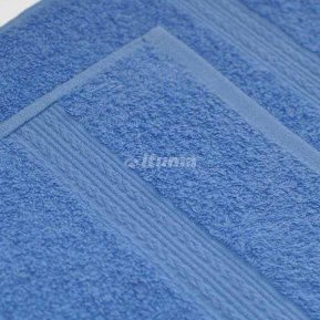 Простыня голубая 180х210 махровая