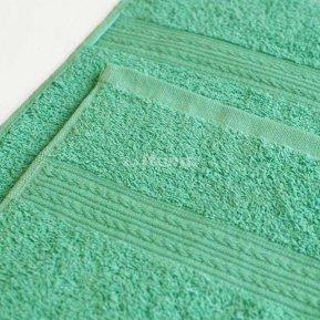 Простыня светло-зеленая 180х210 махровая