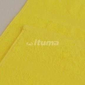 Простыня лимонная 150х210 махровая