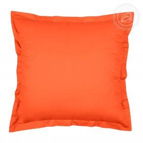 """Комплект наволочек (2шт.) сатин """"Оранжевый"""" 70*70, Арт Дизайн"""