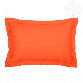 """Комплект наволочек (2шт.) сатин """"Оранжевый"""" 50*70, Арт Дизайн"""