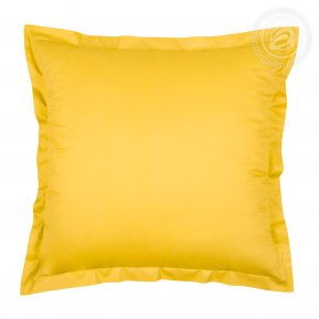 """Комплект наволочек (2шт.) сатин """"Желтый"""" 70*70, Арт Дизайн"""