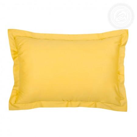 """Комплект наволочек (2шт.) сатин """"Желтый"""" 50х70, Арт Дизайн"""