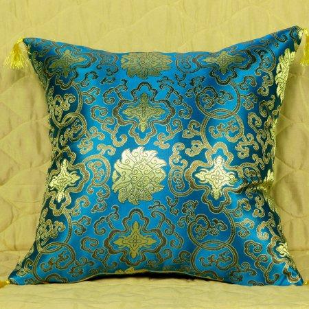 Декоративная наволочка «7008-01» 45х45 Искусственный шелк, TANGO