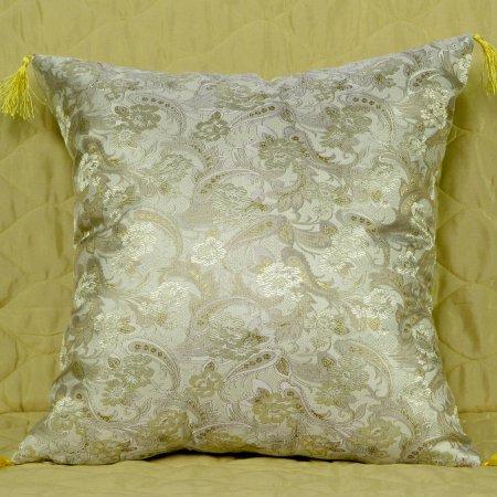 Декоративная наволочка «7008-17» 45х45 Искусственный шелк, TANGO