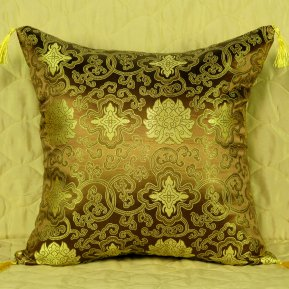 Декоративная наволочка «7008-24» 45*45 Искусственный шелк