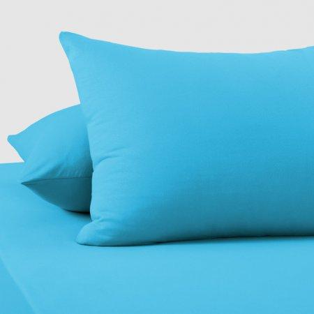 "Комплект наволочек (2шт.) трикотаж ""Голубой"" 50х70, Текс-Дизайн"