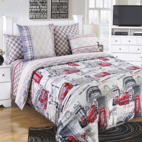 «Лондон» семейное постельное белье, Перкаль, Текс-Дизайн
