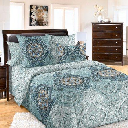 Постельное белье «Интрига» двуспальное с европростыней, Перкаль, Текс-Дизайн